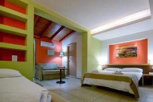 Family Room Room 1 - Iraklion Hotel - Hotel in Heraklion Crete